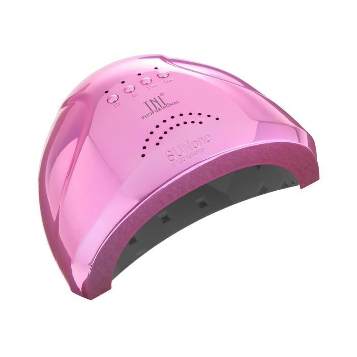 Лампа для гель-лака TNL Shiny, UV/LED, 48 Вт, 30 диодов, таймер 5/30/60 сек, перл.-розовый
