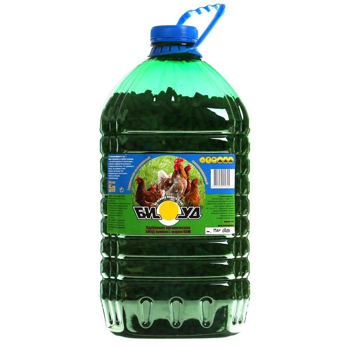 Компост БИУД Птичий. термически высушенный, гранулированный, 5л - РусЭкспресс