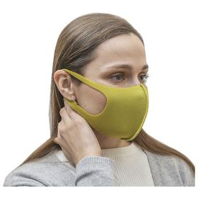 Маска для лица неопреновая антипыль, цвет зеленый