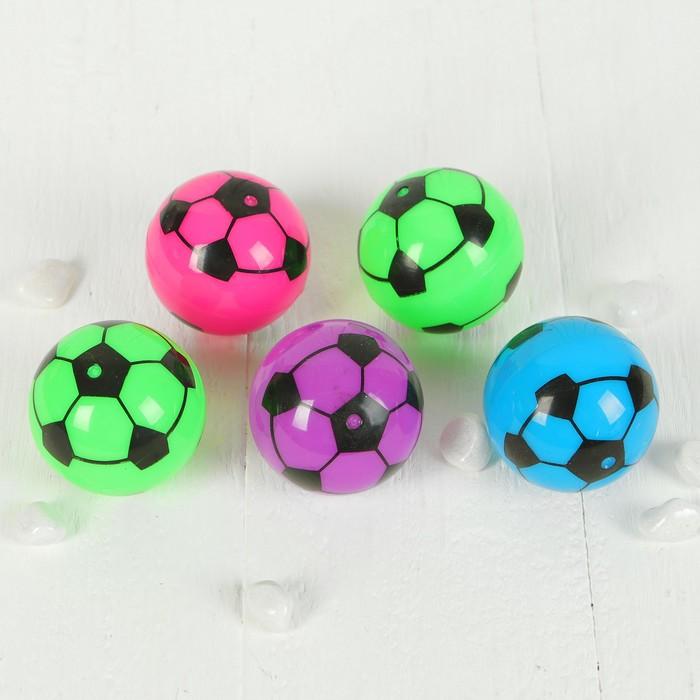 Мяч световой, с водой, 5,5 см, виды МИКС