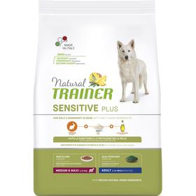 Сухой корм Trainer Natural Sensitive Medium/Maxi Adult для собак, кролик/рис, 12 кг