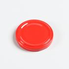 Крышка металлическая «Елабужские крышки», лакированная твист-офф d=5,8 см, цвет красный