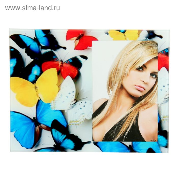 """Фоторамка """"Бабочки и Я"""" для фото 10х15 см"""