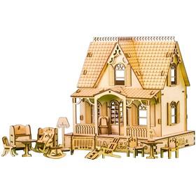 """Кукольный дом """"ВИЛЛА МЕЛЛЕ"""" 16 предметов мебели"""