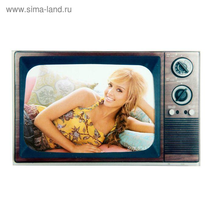 "Фоторамка ""Старый телевизор"" для фото 9х13 см"