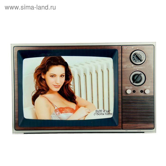 "Фоторамка ""Под старый телевизор"" 10х15 см"