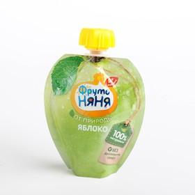 ФРУТОНЯНЯ пюре яблоко натуральное 90г