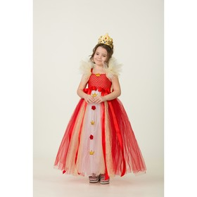 Карнавальный костюм «Королева», сделай сам, корсет, ленты, брошки, аксессуары