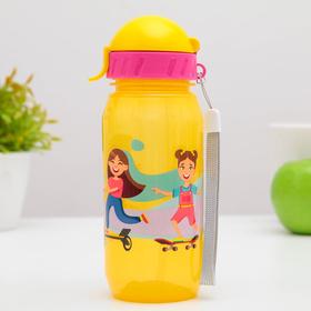 Бутылочка для воды и других пищевых напитков «Активити», 400 мл, цвет МИКС