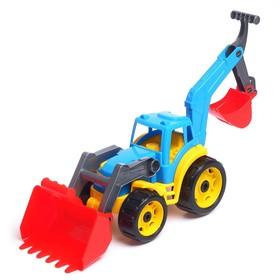 Трактор «Технок», с 2 ковшами