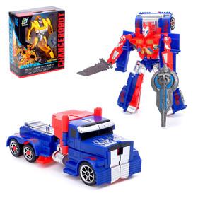 """Робот-трансформер """"Автобот"""", цвет красный"""