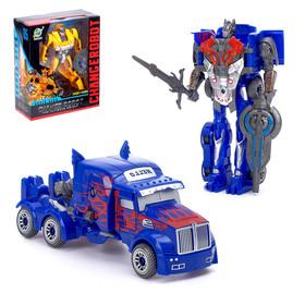 """Робот-трансформер """"Автобот"""", цвет синий"""