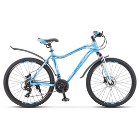 Велосипед 26' Stels Miss-6000 D, V010, цвет голубой, размер 15' Ош