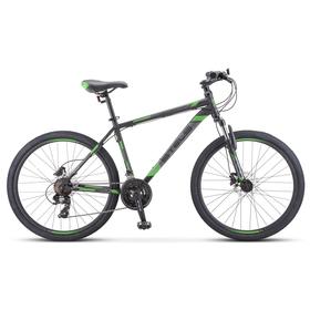 """Велосипед 26"""" Stels Navigator-500 MD, F010, цвет черный/зеленый, размер 18"""""""
