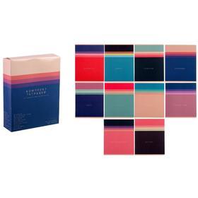 Комплект предметных тетрадей «Цветовой блок», 48 листов, 10 предметов, обложка мелованный картон, ламинация Soft-Touch