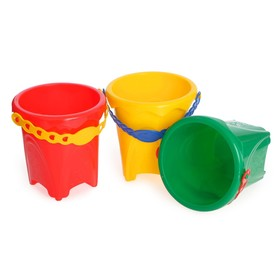 Small bucket with a picture MIX