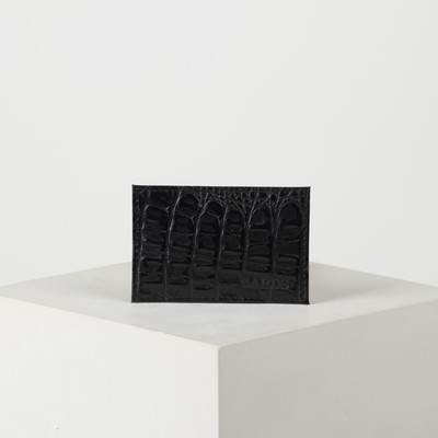 Case card a 9.5*0,1*6cm black Caiman