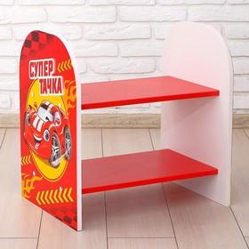 Стеллаж «Супер тачка», цвет красный, 532 × 400 × 550 мм