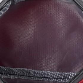 Сумка поясная, 2 отдела на молниях, цвет красный - фото 65078