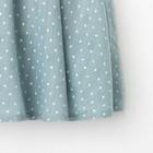 """Платье для девочки KAFTAN """"Горошек"""" р.34 (122-128), зелёный - фото 105696932"""