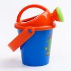 """Набор для купания """"Подводные жители"""": пластиковые игрушки + ведерко - фото 105529330"""