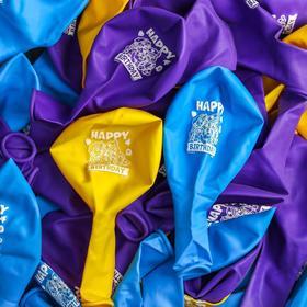 "Balloons ""Happy birthday"" paw patrol 12 inch (set of 25 PCs)"
