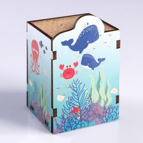 """Подставка для карандашей """"Морской мир"""""""
