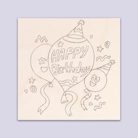 "Board to burn ""Happy birthday"" balloons"