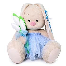 Мягкая игрушка «Зайка Ми» с тюльпанами, 23 см