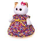 Мягкая игрушка «Ли-Ли» в платье с цветочным принтом, 24 см - фото 105613261