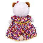 Мягкая игрушка «Ли-Ли» в платье с цветочным принтом, 24 см - фото 105613262