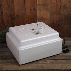 Инкубатор бытовой, на 63 яйца, автоматический переворот, многорежимный, цифровой термометр, 220 В Ош