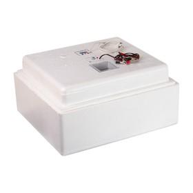 Инкубатор бытовой, на 63 яйца, автоматический переворот, цифровой термометр, 220 В/12 B Ош
