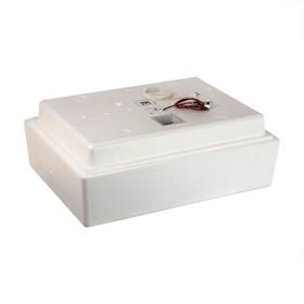 Инкубатор бытовой, на 104 яиц, автоматический переворот, цифровой термометр, 220 В/ 12 B