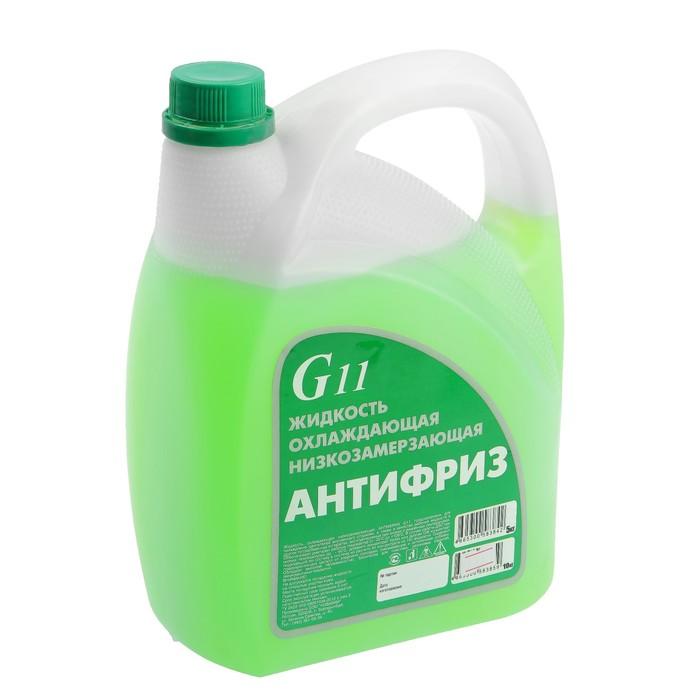 Антифриз Новахим, зелёный G 11, 5 кг