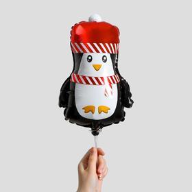 """Шар фольгированный 12"""" «Новогодний пингвинёнок» в Донецке"""