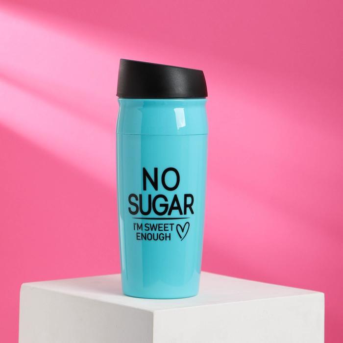 "Термостакан ""No sugar"", 450 мл, сохраняет тепло 2 ч - фото 492139"