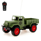 """RC truck """"Military"""", battery powered, MIX in the PACKAGE"""