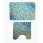 Комплект ковриков Shangri la, 70х50 см, 50х50 см, фото-печать, микрополиэстер
