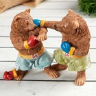 """Figurine Polyresin """"Bears in boxers"""" 12.7х5х10.5 cm"""