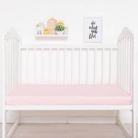 {{photo.Alt || photo.Description || 'Простыня прямоугольная «Крошка Я» 100х160 см, цвет розовый, мако-сатин'}}