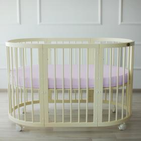 {{photo.Alt || photo.Description || 'Простыня овальная «Крошка Я» 165х115 см, цвет серый, мако-сатин'}}
