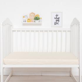 {{photo.Alt || photo.Description || 'Простыня прямоугольная «Крошка Я» 100х160 см, цвет молочный, мако-сатин'}}