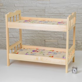 Кровать большая двух-ярусная