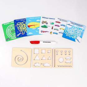 Многоразовые карточки «Пиши-стирай», транспорт