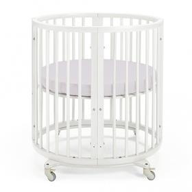 {{photo.Alt || photo.Description || 'Простыня круглая «Крошка Я» 115х115 см, цвет серый, мако-сатин'}}