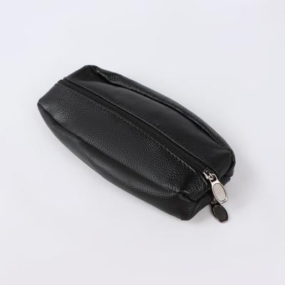 The housekeeper Lea 17*3*8,5, otd 2 zippered, with handle, black