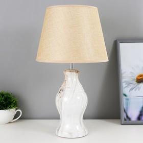 Настольная лампа 32152/1 E14 40Вт бежевый 22х22х39 см