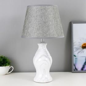 Настольная лампа 32153/1 E14 40Вт белый 22х22х39 см