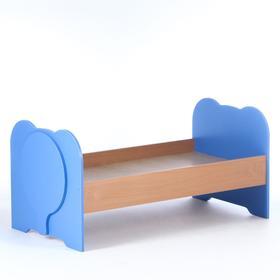"""Кровать """"Слоненок"""", 1432х664х600, ЛДСП, бук-цвет"""